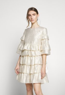 Bruuns Bazaar - FOLJA ANINE DRESS - Vestito elegante - gold