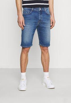 Marc O'Polo DENIM - FIVE POCKET LOW WAIST - Shorts di jeans - true indigo blue