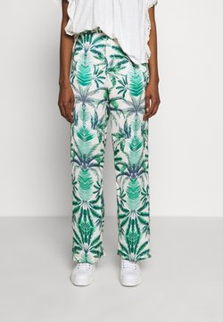 By Malina - MANDIE PANTS - Stoffhose - beneath the palms