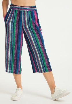 IZIA - Stoffhose - multicolor gestreift
