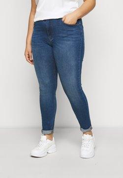 ONLY Carmakoma - CARLAOLA LIFE - Jeans Skinny Fit - medium blue denim