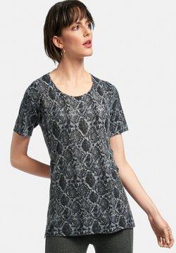 Include - T-Shirt print - schwarz/multicolor