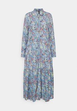 YAS - YASSANTOS LONG DRESS - Vestido largo - dusk blue/santos