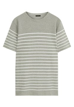Massimo Dutti - T-Shirt print - grey