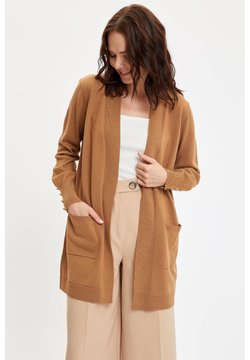 DeFacto - Strickjacke - brown