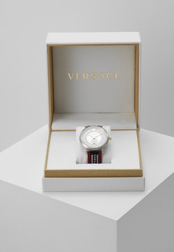 Versace Watches - CIRCLE GRECA EDITION - Montre - red