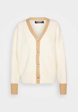 Fashion Union Tall - CONTRASSY - Vest - cream/brown