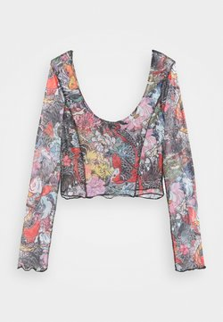 NEW girl ORDER - FLORAL FISH TOP - Langarmshirt - multi-coloured