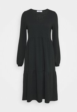 ONLY Tall - ONLGRACE DRESS - Neulemekko - black/pine grove