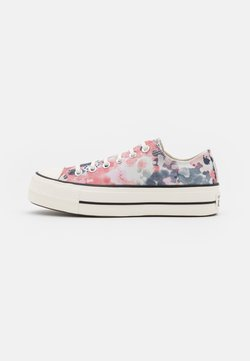 Converse - CHUCK TAYLOR ALL STAR PLATFORM - Sneaker low - egret/terracotta pink/black