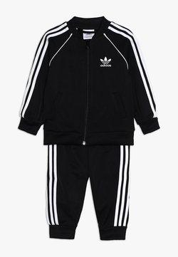 adidas Originals - SUPERSTAR SET - Bluza rozpinana - black/white