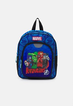 Kidzroom - BACKPACK AVENGERS ARMOR UP UNISEX - Ryggsäck - blue