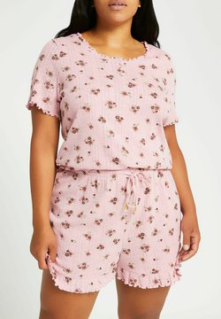 River Island Plus - Pyjama - pink