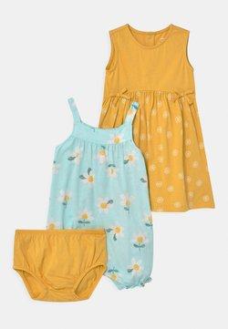 Carter's - FLORAL SET - Jumpsuit - mint/yellow