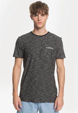 Quiksilver - KENTIN - T-Shirt print - black city