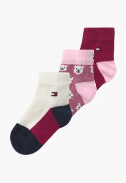 Tommy Hilfiger - BABY BEAR GIFTBOX 3 PACK - Calcetines - pink