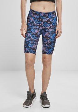 Urban Classics - TECH CYCLE  - Shorts - digital duskviolet camo