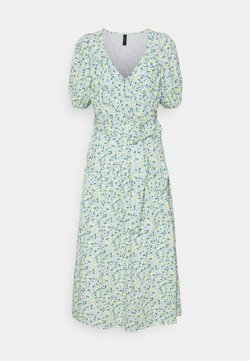 YAS - YASFILO LONG DRESS - Sukienka letnia - eggnog