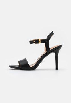 Lauren Ralph Lauren - GWEN - Sandalen met hoge hak - black