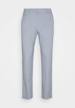 Les Deux - COMO LIGHT SUIT PANTS - Anzughose - dust blue