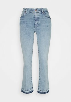 7 for all mankind - CROPPED BOOT UNROLLED - Jeansy Bootcut - pier