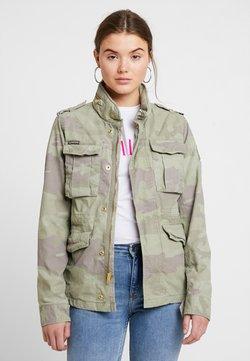 Superdry - DELTA SOFT CAMO ROOKIE - Summer jacket - khaki