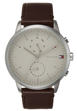 Tommy Hilfiger - WATCH - Montre - silver-coloured/brown