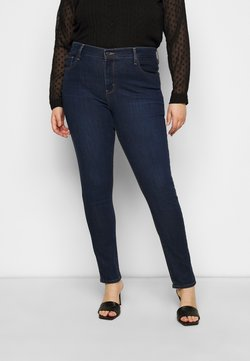 Levi's® Plus - 721 PL HI RISE SKINNY - Jeansy Skinny Fit - dark-blue denim