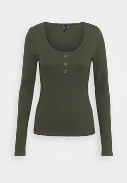 Vero Moda - Langarmshirt - ivy green