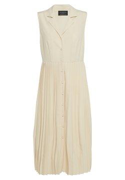 Selected Femme - SLFALEXIS MIDI DRESS PETITE - Vestido camisero - sandshell