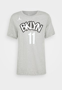 Nike Performance - NBA BROOKLYN NETS KYRIE IRVING NAME NUMBER TEE - Article de supporter - dark grey heather