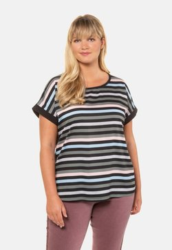 Ulla Popken - T-Shirt print - black