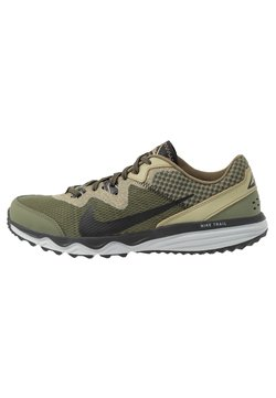 Nike Performance - JUNIPER TRAIL - Zapatillas de trail running - tent/off noir/life lime/yukon brown
