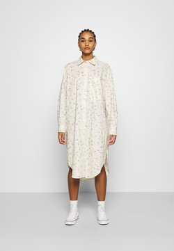 Monki - CAROL DRESS - Blusenkleid - white