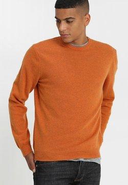 Benetton - BASIC CREWNECK - Trui - orange