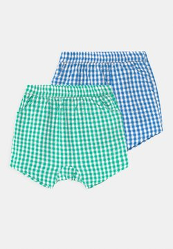 Cotton On - KELLY 2 PACK UNISEX - Shorts - blue/green