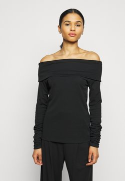 BLANCHE - CARISI OFF SHOULDER - Langarmshirt - black