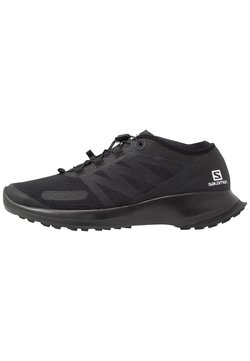 Salomon - SENSE FLOW - Zapatillas de trail running - black