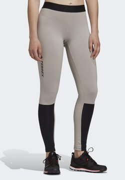 adidas Performance - AEROREADY X-COUNTRY SKIING LEGGINGS - Tights - grey