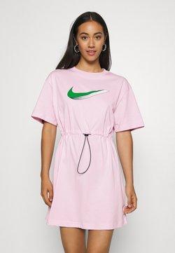 Nike Sportswear - DRESS - Jerseykleid - pink foam