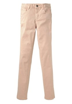 TOM TAILOR - FARBIGE - Straight leg jeans - light pink