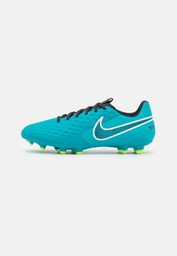 Nike Performance - TIEMPO LEGEND 8 ACADEMY FG/MG - Korki Lanki - aquamarine/white/lime glow