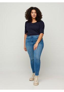 Zizzi - Jeansy Skinny Fit - blue
