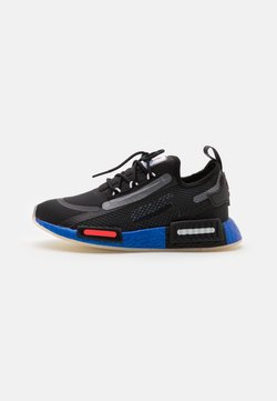 adidas Originals - NMD_R1 SPEEDLINES BOOST SHOES - Sneaker low - core black/solar red