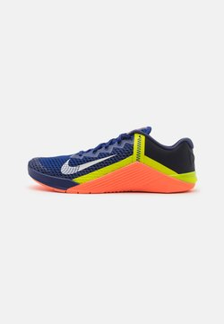 Nike Performance - METCON 6 UNISEX - Kuntoilukengät - deep royal blue/metallic platinum