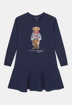 Polo Ralph Lauren - BEAR DRESS - Freizeitkleid - newport navy