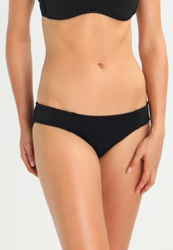 Seafolly - QUILTED HIPSTER - Bikinibroekje - black