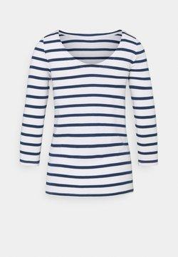 GAP - BALLET - Langarmshirt - white/navy