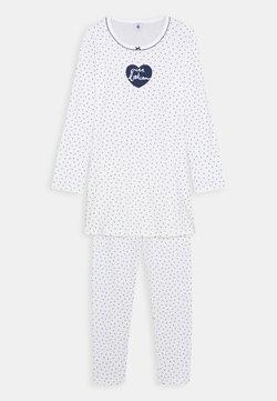Petit Bateau - LILIROSECHEMISE DE NUIT SET - Pyjamas - marshmallow/medieval