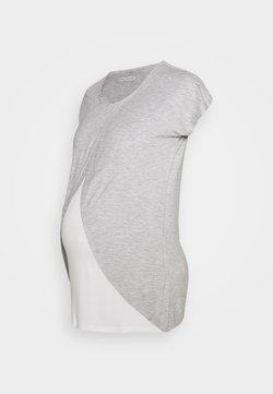 Anna Field MAMA - BASIC NURSING TOP - Camiseta estampada - mid grey mélange